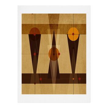 Viviana Gonzalez Geometric Abstract 4 Art Print