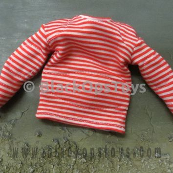 Russian Interior Troops OSN VITYAZ Red & White Striped Sailor Shirt