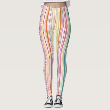 Colorful pant leggings