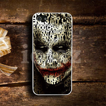 joker face Design mobile Phone case