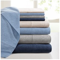 Heather Jersey Knit Sheet Set