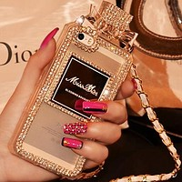 Dior Fashion Personality Print iPhone Phone Cover Case For iphone 6 6s 6plus 6s-plus 7 7plus 8 8plus