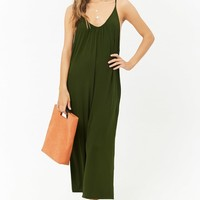 Wide-Leg Cami Jumpsuit