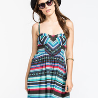 Billabong Spread The News Dress Multi  In Sizes