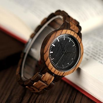 Men Bobo c7897 Wooden Wrist Watch