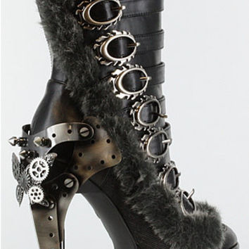 Polaro Ankle Boots Steampunk shoes and boots hades metropolis
