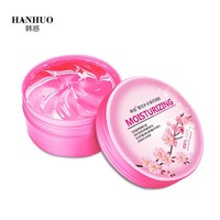 2Pcs HanHuo Face Mask Cream 300g No Wash Night Cream Cherry Blossom Soothing Gel  Skin Care for Moisturizing Nourishing