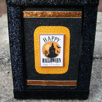 Happy Halloween 3D Wall Table Decoration 3D Display, 4 x 6