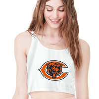 Chicago Bears For Womens Crop Tank **