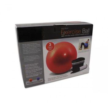 ONETOW Pilates Exercise Ball And Pump
