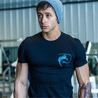 2018 Summer Fashion Brand Mens Gyms Clothing