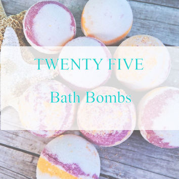 TWENTY FIVE BATH FIZZY Set