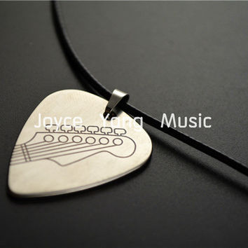 Niko Hand Made Rock&Roll Style Metal Guitar Pick Necklace Stainless Steel Picks Free Shipping