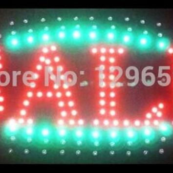 direct selling custom indoor led sign 19x10 Inch Ultra Bright flashing business store sale signage