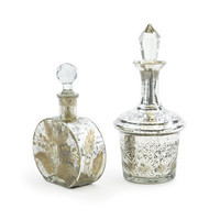 Vintage Perfume Bottles - Set of Two - Vintage Modern Event Decor