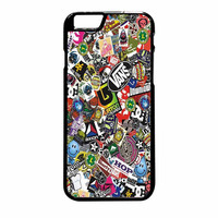 Stickerbomb Skate Dub Vans iPhone 6 Plus Case