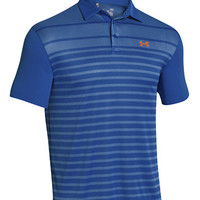 Under Armour Front 9 Jacquard Stripe Polo