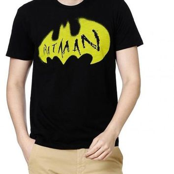 Batman Superhero Protector Black Half Sleeves Men