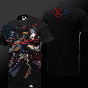 Overwatch Hanzo Demon x Genji Oni T-Shirt
