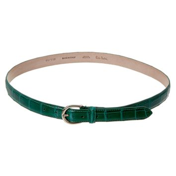 Paolo Bentini Paolo Bentini Crocodile Belt | Bluefly