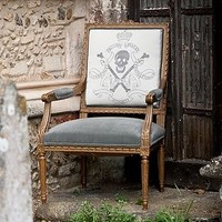 Skull And Crossbones Chair