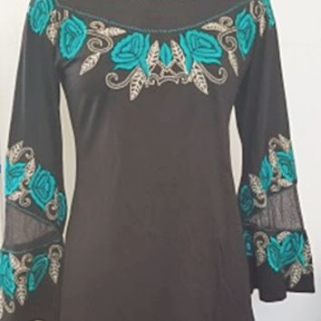Vintage Collection Mollie Bell Sleeved Top