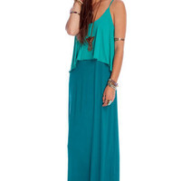Easy Breezy Maxi Dress in Turquoise