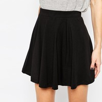 Noisy May Apra Skater Skirt in Black