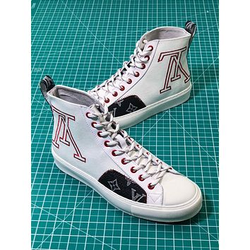 Louis Vuitton Lv Tattoo Sneaker Boot White Sneakers - Sale