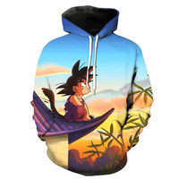 Kid Goku Dragon Ball Z Hoodie