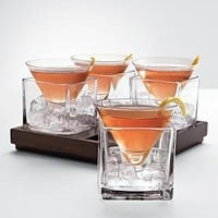Cubist martini set at RedEnvelope.com