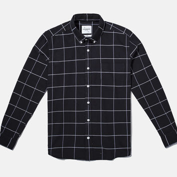 Crosby Oxford Grid Plaid Shirt | Saturdays