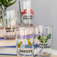 PARTY ANIMALS GLASSES SET