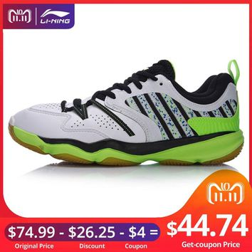 Li-Ning Men RANGER Daily Badminton Training Shoes Breathable Sneakers Wear-Resistance LiNing Sport Shoes AYTM081 XYY051