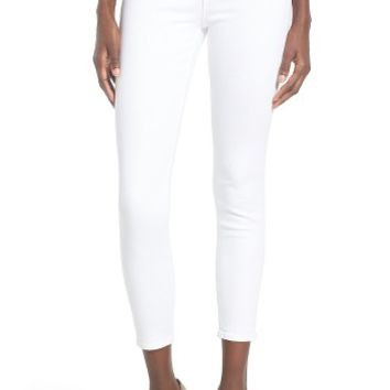 Articles of Society Carly Skinny Crop Jeans (Whiteout) | Nordstrom