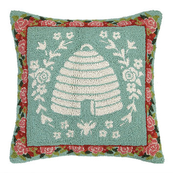 Secret Garden Bees Pillow