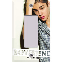 Justin Bieber - Boyfriend Rocker Switch/GFI Cover