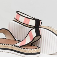 ASOS JUNCTION Sandal Espadrilles at asos.com
