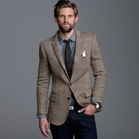 Men's new arrivals - sportcoats & vests - Ludlow sportcoat in herringbone linen - J.Crew