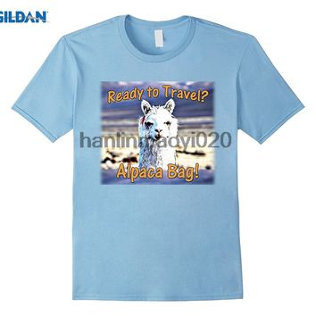 GILDAN Funny Alpaca Travel T Shirt
