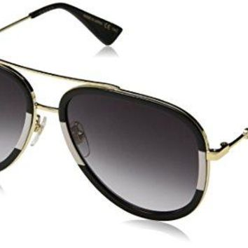 Gucci 0062S 006 Gold 0062S Pilot Sunglasses Lens Category 3 Size 57mm