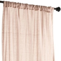 Quinn Sheer Curtain - Blush