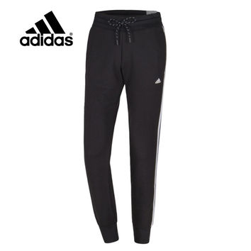 """Adidas"" Women Stripe Letter Print Knit Casual Long Pants Systole Foot Sweatpants"