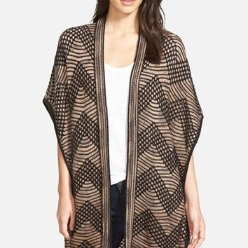 Women's NIC+ZOE Chevron Long Cardigan,
