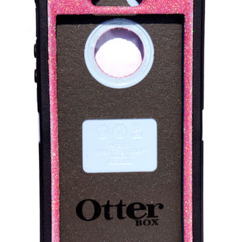 Otterbox Case iPhone 5/5s Glitter Cute Sparkly Bling Defender Series Custom Case Pink / Black