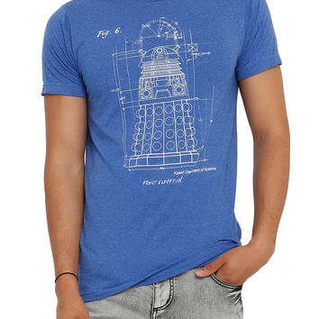 Doctor Who Dalek Schematic T-Shirt