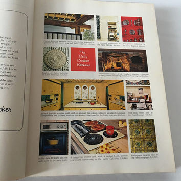 Vintage Betty Crocker Cookbook 1970s