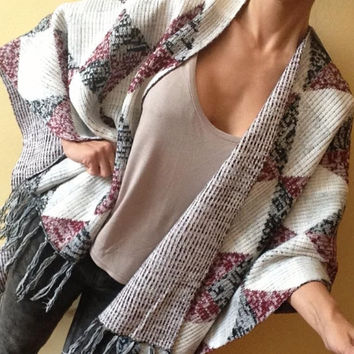 Extra big layer/poncho
