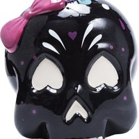 Sourpuss Black Skull Candy Bowl - Homewares - Home & Gifts