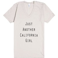 California Girl-Unisex Organic Natural T-Shirt